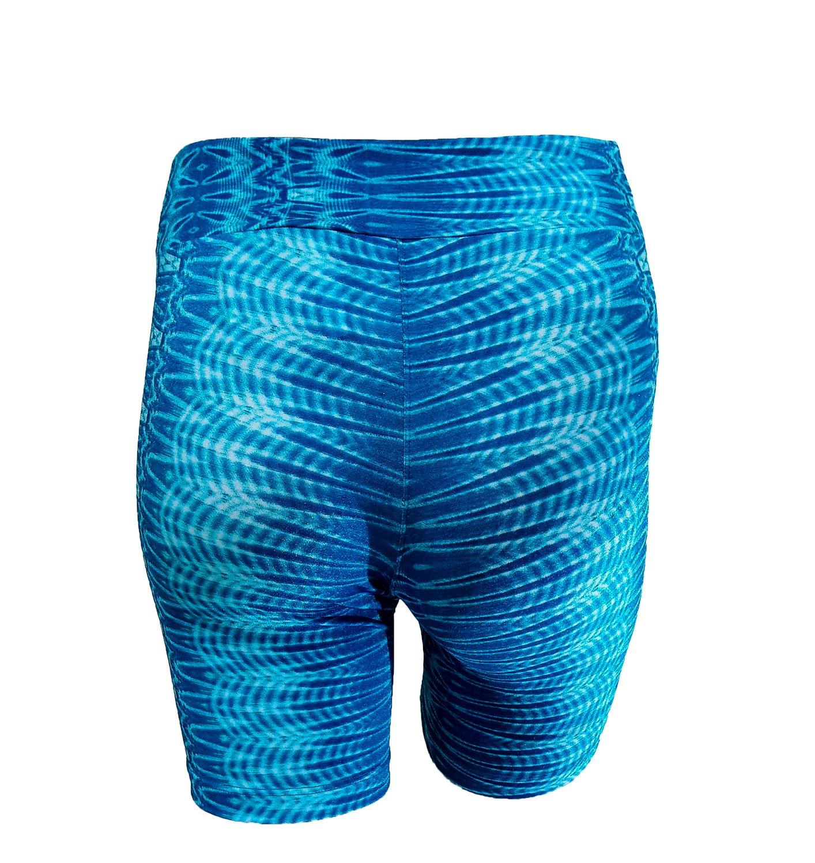 Bermuda  Estampa Azul