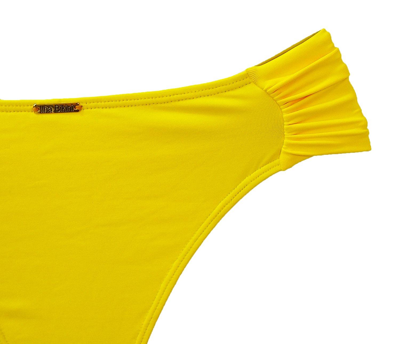 Calcinha Confort Média Amarelo