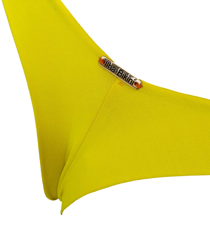 Calcinha Fio Dental Amarela