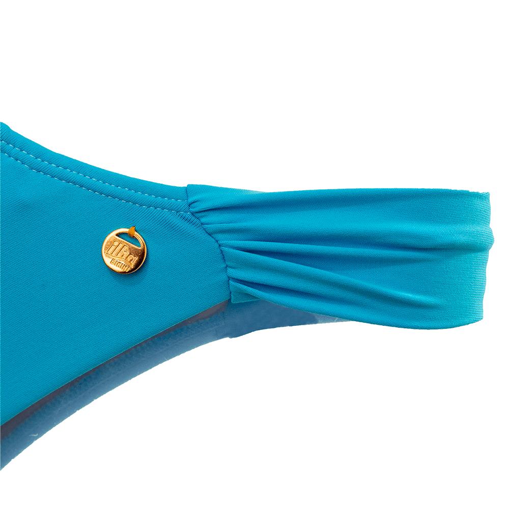Calcinha Fio Dental Confort Azul Celeste