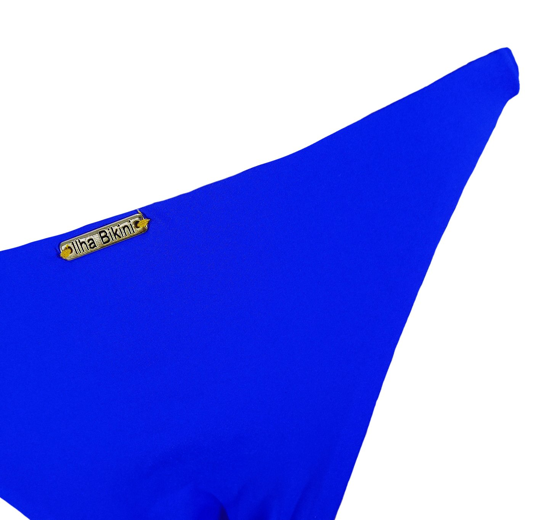 Calcinha Fixa Dupla Azul Royal