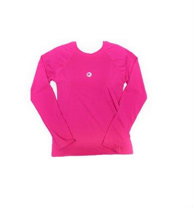 Blusa Infantil Proteção UV Rosa