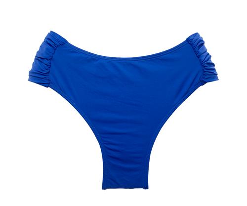Calcinha Confort Larga Azul Royal