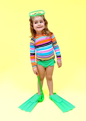 Calcinha Infantil Com Babadinho  Verde