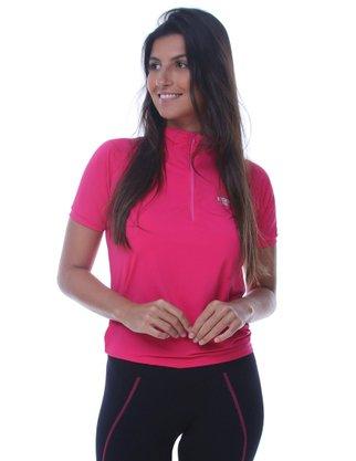 Camisa De Ciclismo Unissex Rosa