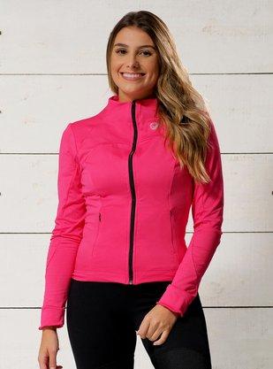 Jaqueta Ciclismo Rosa
