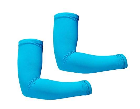 Manguito Ciclismo Azul Turquesa