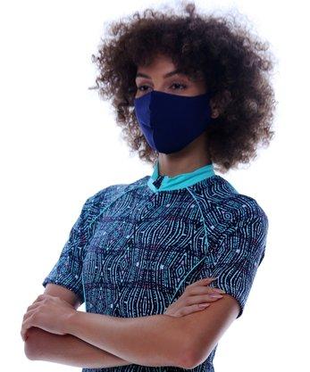 Máscara Protetora Azul Marinho