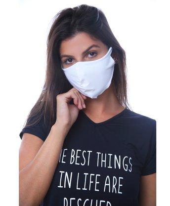 Máscara Protetora Branca