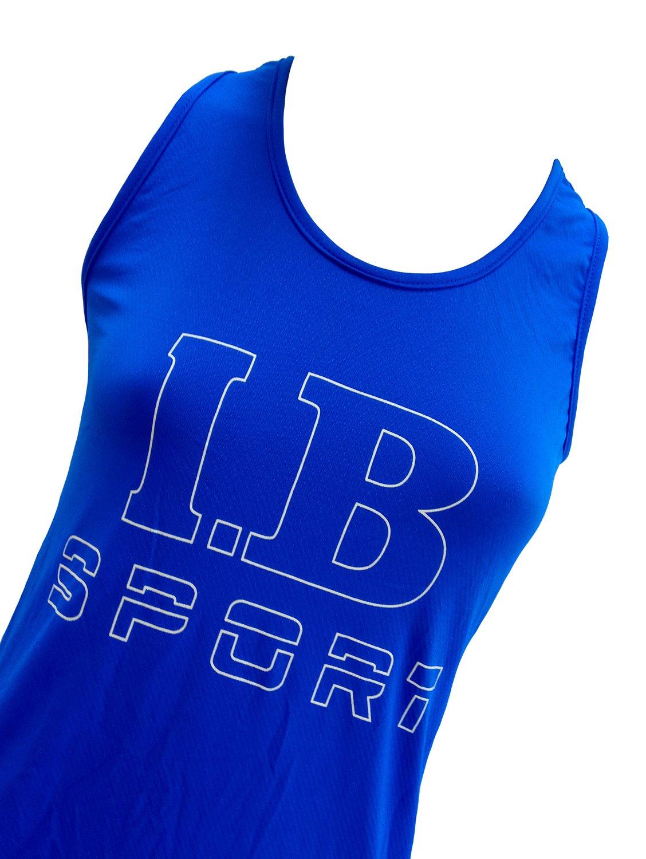 Regata Nadador Azul Royal Com Estampa