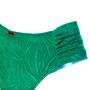 Calcinha Confort Média Verde Bandeira
