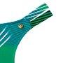 Calcinha Dois Elásticos Estampada Verde