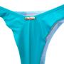 Calcinha Fio Amarradinha com Argola Azul Turquesa