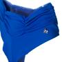Calcinha Fio Com Barra Drapeada Azul Royal