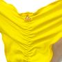 Calcinha Ripple Amarrada Amarela
