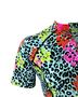 Camisa De Ciclismo Feminina Animal Print Colorida