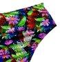 Hot Pants Com Recorte Franzido Floral