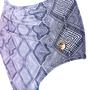 Hot Pants Com  Recorte Franzido Preto e Branco