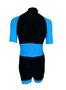 Macaquinho Ciclismo Recortes Azul Celeste
