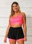 Shorts 2 em 1 Melancia Neon
