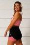 Shorts 2 em 1 Rosa Antigo