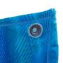 Sunga Boxer Infantil Geométrico Azul