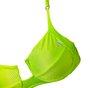 Sutiã Texturizado Verde Neon Com Aro