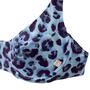 Sutiã Com Aro Animal Print Onça Azul