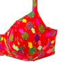 Sutiã Meia Taça Com Alça Regulável Abacaxis Coloridos