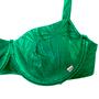 Sutiã Meia Taça com Alça Regulável Verde Bandeira