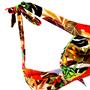 Sutiã Modelle Drapeado Com Acessório Floral Vermelho