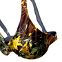 Sutiã Plus Size Com Aro Floral Marrom