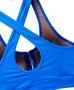 Top Azul Com Zíper
