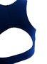 Top Meia Lua Azul Marinho
