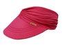 Viseira Turbante Com Proteção Vermelho Carmim